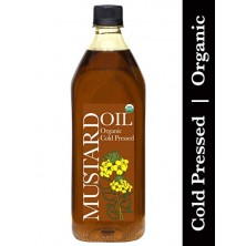 Organic Mustard Oil Kachi Ghani 1 Ltr