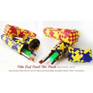 Panai Palm Leaf Pencil Box Pouch Return Gifts
