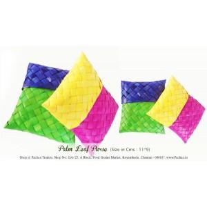 Panai Olai Palm Leaf Sewing Purse