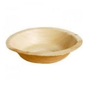 Areca Leaf Disposable Plates (6 Inch) 50 Nos