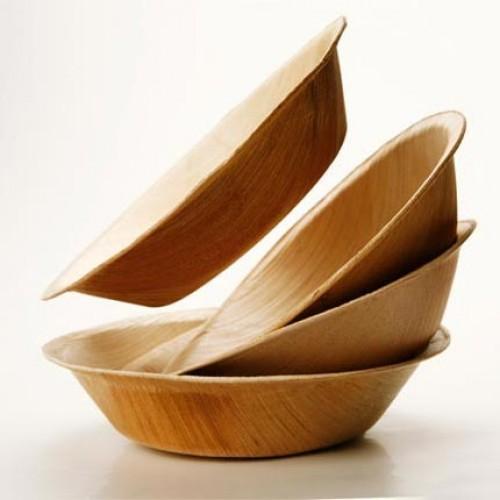 Areca Leaf Plates Disposable Plates (12cm) 50 Nos