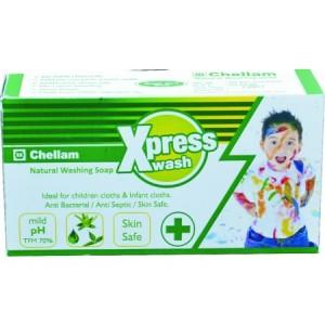 Chellam Xpress Wash Natural Washing Soap 225g
